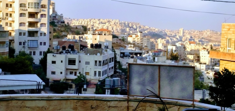 bethlehem view from hotel back day five