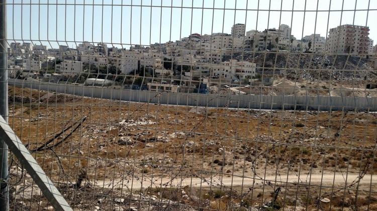 east jerusalem fence day seven
