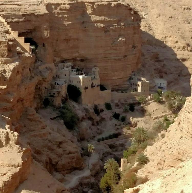 jericho desert monestary day eight