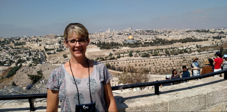 old jerusalem from mt of olives day six
