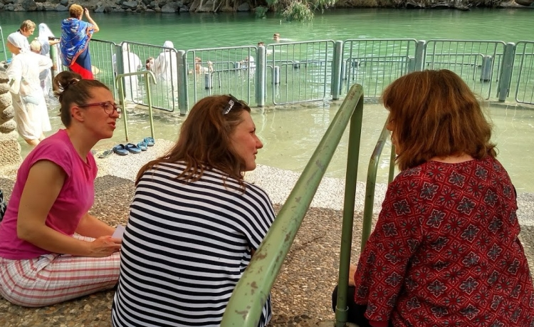 polish women at jordan river day five