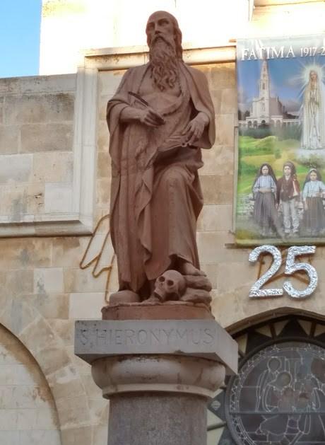 st jerome statue